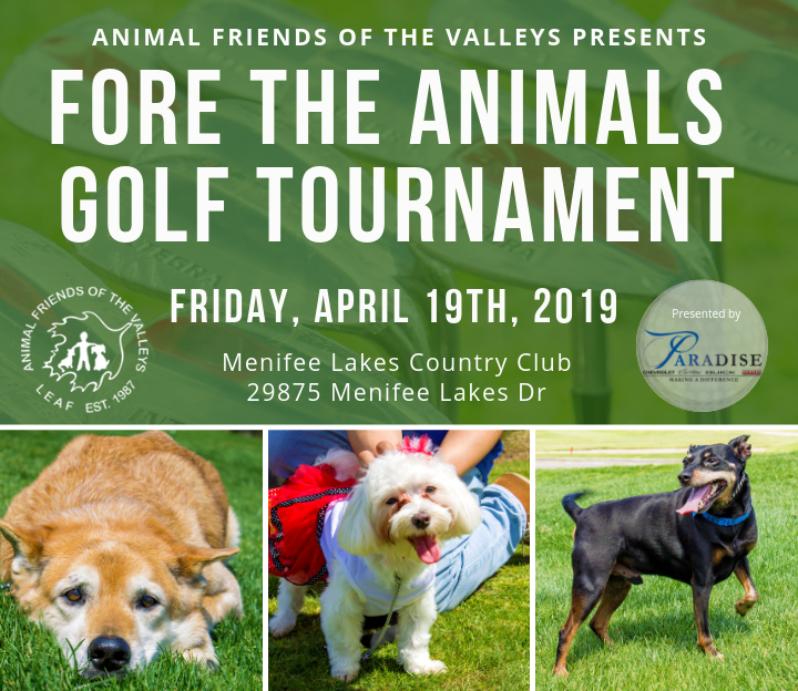 FORE the Animals Golf Tournament